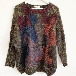Lili La Tigresse Paris Metallic Sweater Size XXL